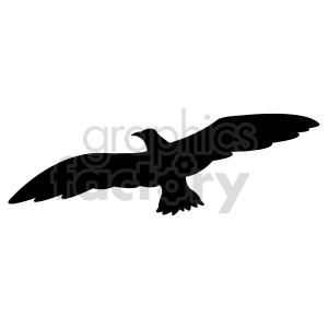 bird silhouette vector clipart. Commercial use image # 415968
