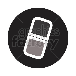 pill icon vector clipart clipart. Commercial use image # 416000