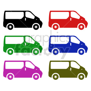 electric van vector clipart clipart. Commercial use image # 416020