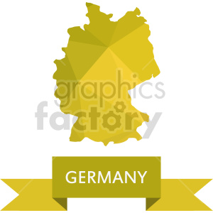 germany yellow vector clipart clipart. Commercial use image # 416052