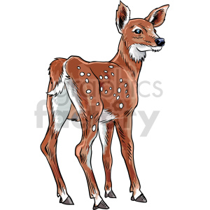 deer vector clipart clipart. Commercial use image # 416171