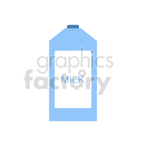 milk container vector clipart clipart. Commercial use image # 416205