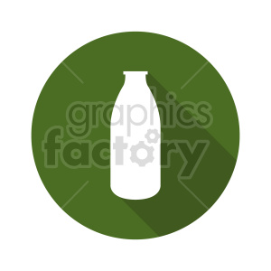 milk bottle vector clipart icon clipart. Commercial use image # 416221
