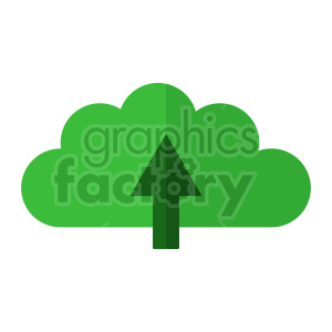 upload to the cloud vector icon clipart. Commercial use image # 416341