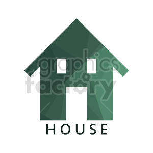 house vector graphics clipart. Commercial use image # 416494