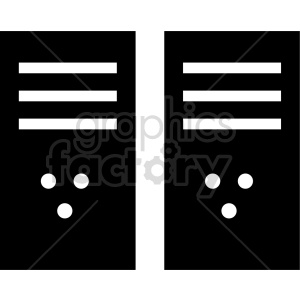 computer server vector clipart clipart. Commercial use image # 416540