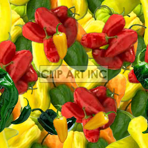 background backgrounds tiled bg pepper peppers red yellow green   101205-spicy Backgrounds Tiled
