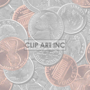 background backgrounds tiled bg money coins coin change   102705-spare-change-light Backgrounds Tiled