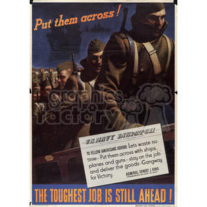 war posters world II   MPW00037 Clip Art Old War Posters