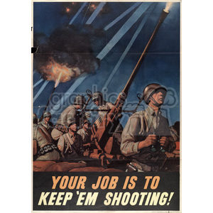 war posters world II   MPW00047 Clip Art Old War Posters