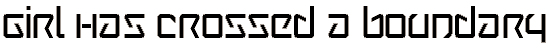 wintermute font. Royalty-free font # 174712