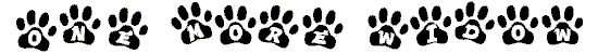 dog paw background. Royalty-free background # 174794