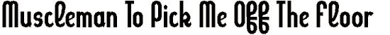 kleptocr font. Royalty-free font # 174834