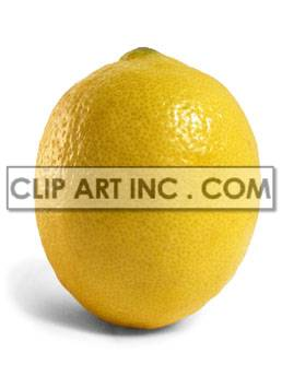 Lemon clipart. Commercial use image # 176920