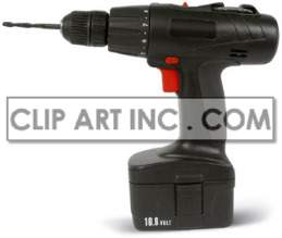 electric drill tool power building construction industry carpentry bit steel  Photos Objects