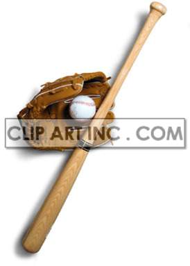 baseball bat ball gloves leather sport equipment game leisure recreation  Photos Objects