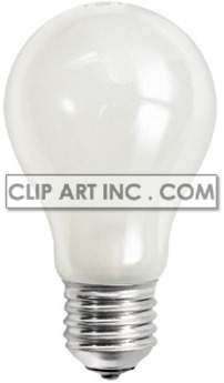 light bulb photo clipart. Commercial use image # 177448