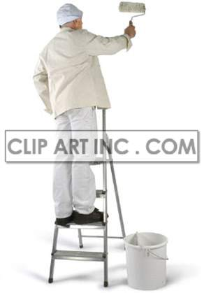 painter painting paint   3d0013lowres photos people