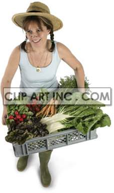 vegetable vegetables girl lady   3D2017lowres Photos People
