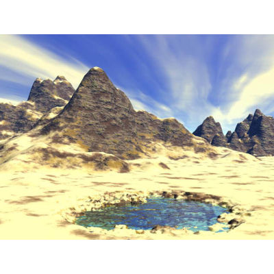desert background. Royalty-free background # 178315