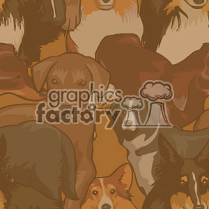 022506 puppies light clipart. Commercial use image # 371202