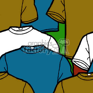 092106-tshirts clipart. Commercial use image # 371712