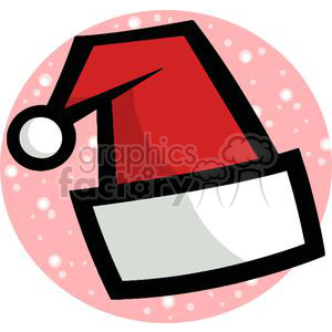 Santa Clause Hat clipart. Commercial use image # 378092