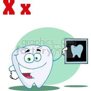X is for X Ray  clipart. Royalty-free image # 378167