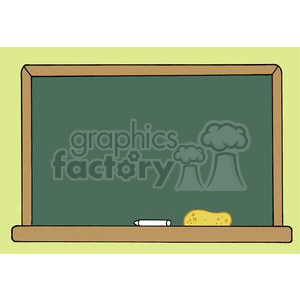 School Chalk Board clipart. Commercial use image # 379264