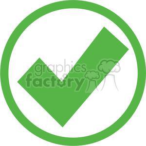 green circled check mark