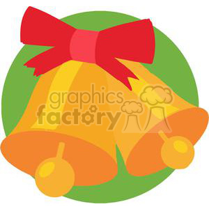 Christmas Bells clipart. Royalty-free image # 379631