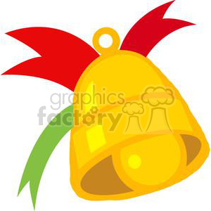 Christmas Bell clipart. Royalty-free image # 379641