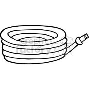 Garden hose clipart. Commercial use image # 379646