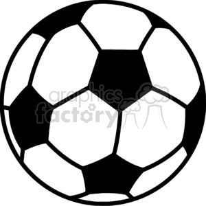 Soccer ball clipart. Royalty-free image # 379681