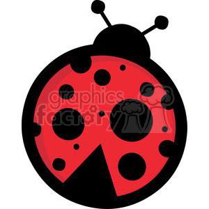 Ladybug clipart. Commercial use image # 379701