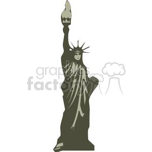 Statue of Liberty clipart. Commercial use image # 379921