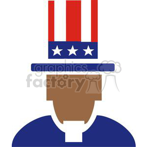 Uncle Sam clipart. Royalty-free image # 379931