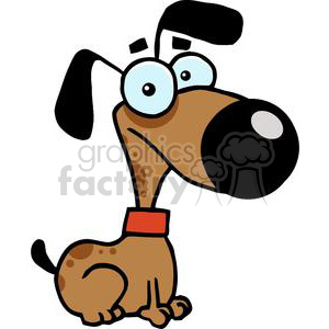 chihuahua Cartoon Character clipart. Commercial use image # 379936