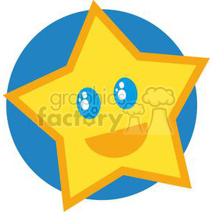2649-Royalty-Free-Little-Star-Cartoon-Character clipart. Royalty-free image # 379996