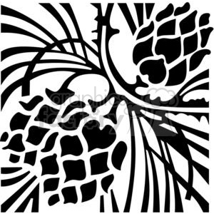 vinyl-ready vector black white flower flowers floral nature organic design designs elements vine