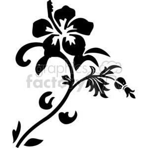 flowers hibiscus clipart. Commercial use image # 380093