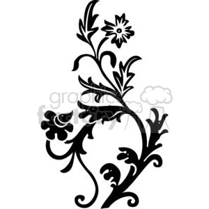 flowers clipart. Royalty-free image # 380128