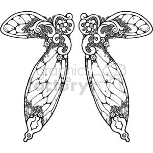 Fairy-Wing-Double-3 clipart. Royalty-free image # 380173