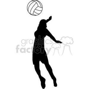 volleyball-player clipart. Commercial use image # 381164