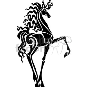 fancy horse clipart. Royalty-free image # 383661