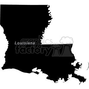 LA-Louisiana clipart. Commercial use image # 383753