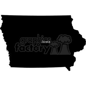IA-Iowa clipart. Commercial use image # 383763