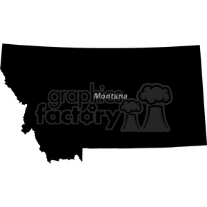 USA United+States black+white vector outline America MT Montana