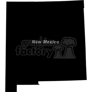 NM New Mexico clipart. Royalty-free image # 383783