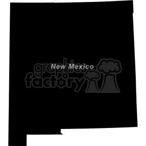 USA United+States black+white vector outline America NM New+Mexico
